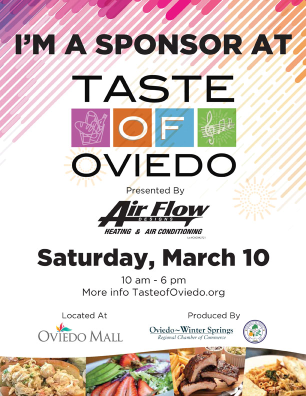 Taste Of Oviedo Flyer